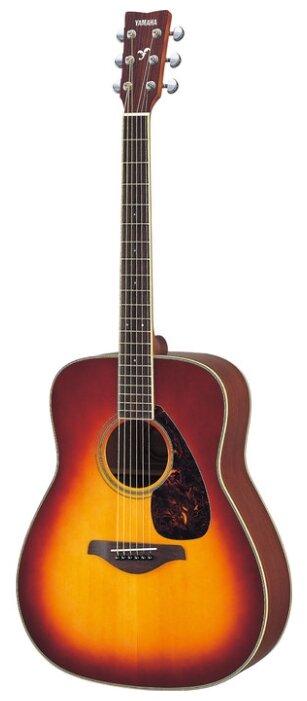 Гитара классическая YAMAHA FG720S Brown Sunburst