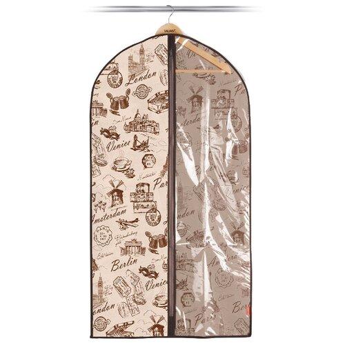 Valiant Чехол для одежды малый, 100*60 см, бежевый бежевый чехол для одежды valiant vintage объемный 60 x 137 x 10 см