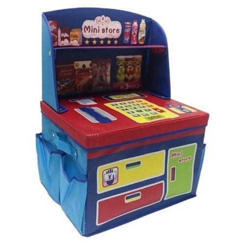 Корзина Наша игрушка Магазин (TX13287-2) синий/красный игрушка