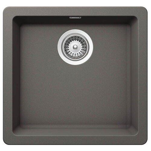Фото - Врезная кухонная мойка 45.6 см Schock Greenwich N-100 серебристый камень врезная кухонная мойка 45 см schock soho n 100s серебристый камень