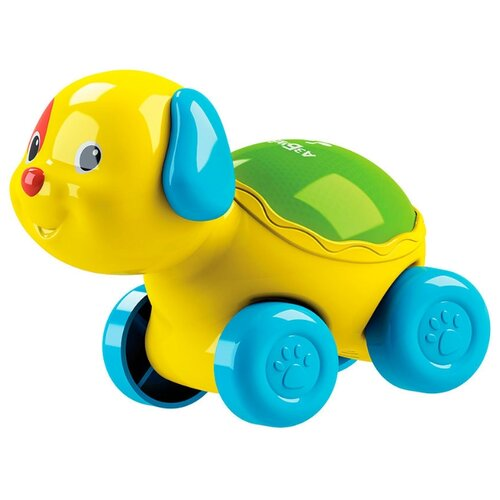 Купить Развивающая игрушка Азбукварик Люленьки Собачка Светяшка желтый, Развивающие игрушки