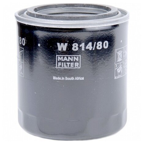 Масляный фильтр MANNFILTER W814/80
