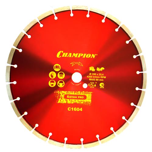 Диск алмазный отрезной CHAMPION Concremax С1604, 350 мм 1 шт.