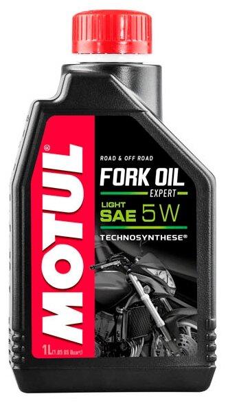 Вилочное масло Motul Fork Oil Expert Light 5W 1л (105929)