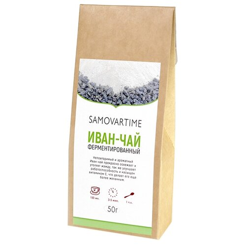 Чай травяной Samovartime Иван-чай , 50 г травяной чай цветущий луг новинка 50 г