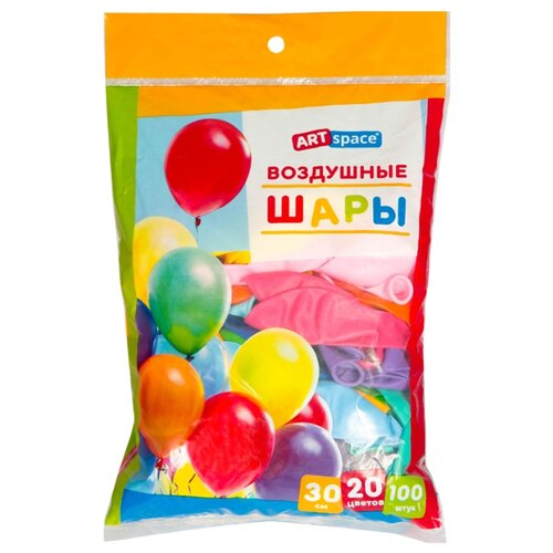 цена на Набор воздушных шаров ArtSpace BL_16090 пастель (100 шт.)