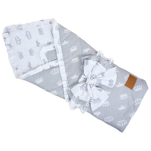 Купить Одеяло на выписку AmaroBaby HAPPY (Серый), Конверты и спальные мешки