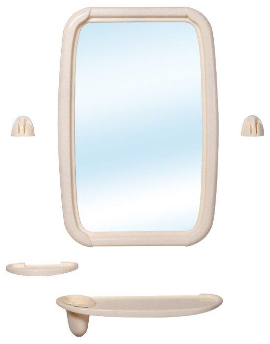 Зеркало BEROSSI Optima 34.6х51.5 см слоновая кость в раме