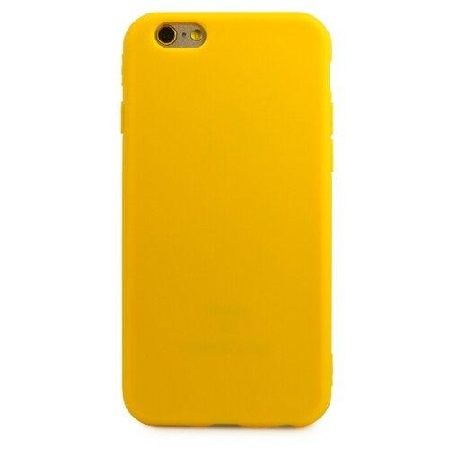 Купить Чехол Pastila TPU Matte для Apple iPhone 6/iPhone 6S желтый