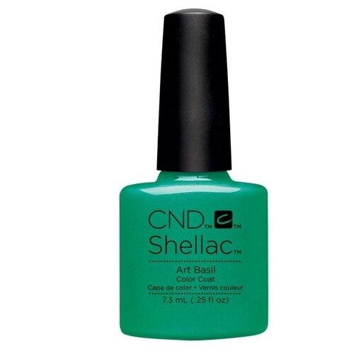 Купить Гель-лак для ногтей CND Shellac Art Vandal, 7.3 мл, Art Basil