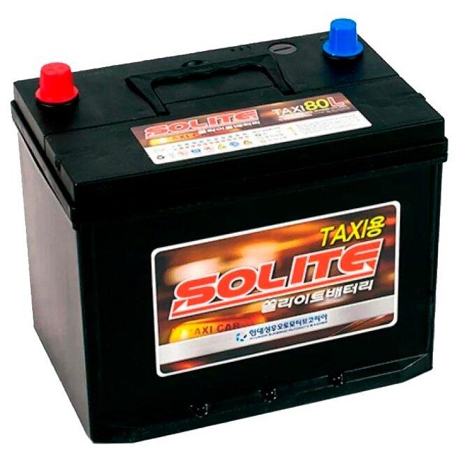 Аккумулятор Solite TAXI 80L