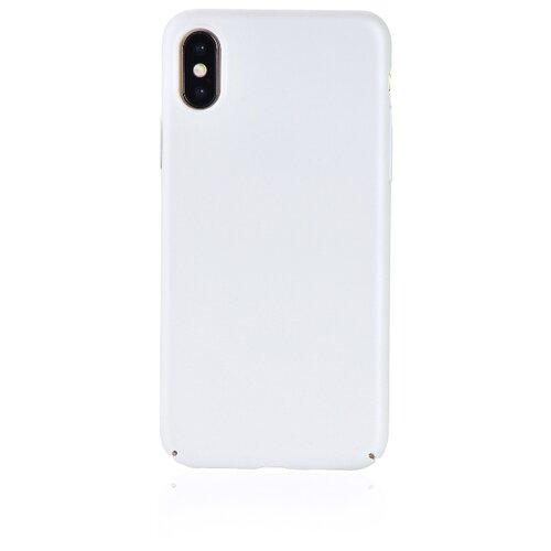 Чехол Gurdini Soft-touch для Apple iPhone X/Xs жемчужный
