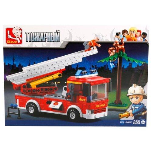 цена на Конструктор SLUBAN Пожарные спасатели M38-B0625