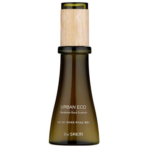 The Saem Urban Eco Harakeke Root Essence Увлажняющая эссенция для лица с экстрактом новозеландского льна, 55 мл осветляющий крем для лица с экстрактом новозеландского льна urban eco harakeke whitening cream 60мл
