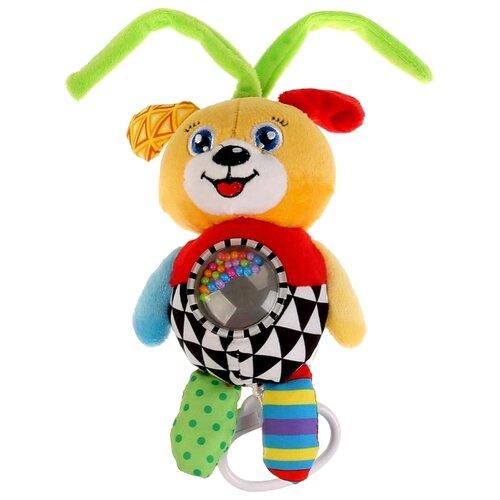 Купить Подвесная игрушка Умка Собачка (RMM-D (120)) желтый/зеленый/красный, Подвески