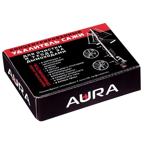Средство для очистки дымохода от сажи AURA 200гр.