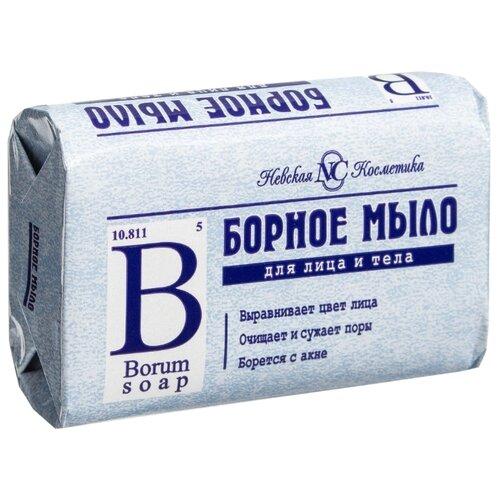Мыло туалетное Невская Косметика Борное, 90 г невская косметика туалетное мыло детское 90 гр
