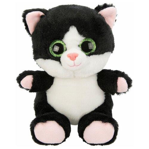 Купить Мягкая игрушка Fluffy Family Крошка Котенок черный 15 см, Мягкие игрушки