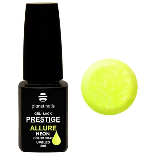 Гель-лак planet nails Prestige Allure Neon, 8 мл, оттенок 695 гель лак planet nails prestige allure 8 мл оттенок 618