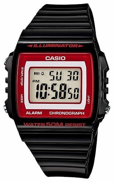 Наручные часы CASIO W-215H-1A2