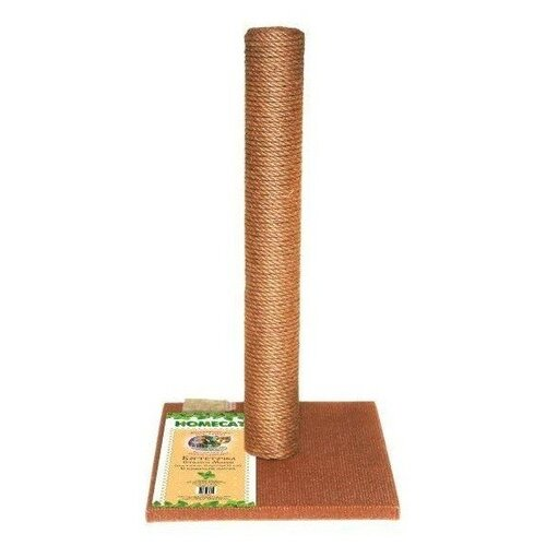 Когтеточка Homecat столбик 29.5 х 29.5 х 50 см коричневый