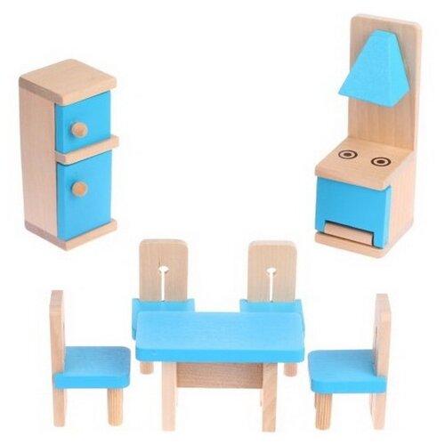 Купить Onshine Кухня (TNWX-6188) голубой/бежевый, Мебель для кукол