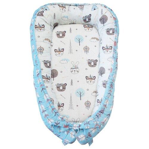 Купить Позиционер для сна Amarobaby Little Baby Индейцы, Покрывала, подушки, одеяла