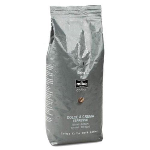 Кофе в зернах Miko Coffee Dolce & Crema, арабика/робуста, 1 кг масло для лица miko miko mi071lwctup8