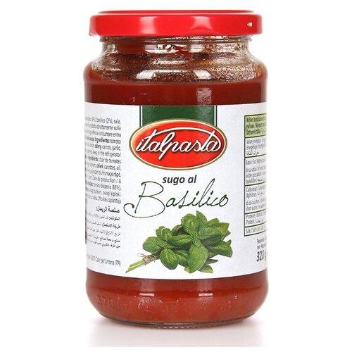 Соус Italpasta Томатный с базиликом 320 г unidan соус томатный с хреном 500 г