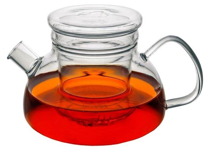 Купить CnGlass Заварочный чайник CH07007-3 650 мл, прозрачный по низкой цене с доставкой из Яндекс.Маркета