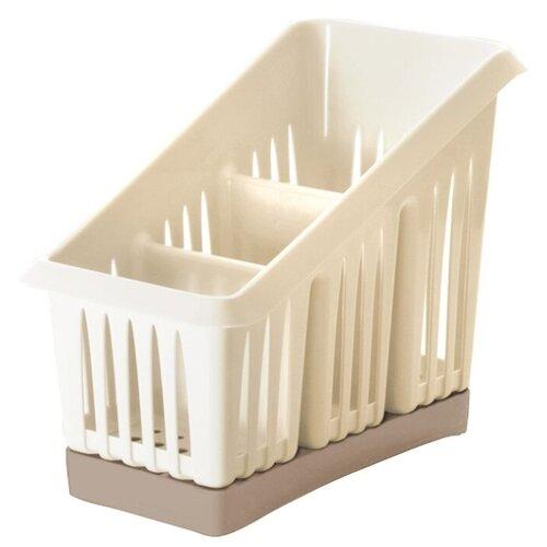 Сушилка для столовых приборов Giaretti Bono 3-секционная, 20х12х16 см недорого