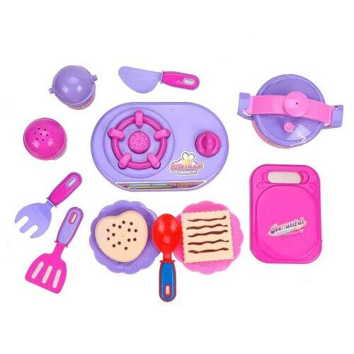 Купить Набор Shantou Gepai B26 розовый/фиолетовый, Детские кухни и бытовая техника