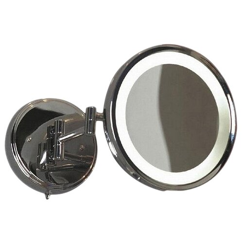 Зеркало косметическое настенное Lussole Acqua LSL-6101-01 с подсветкой хром