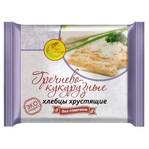Хлебцы гречнево-кукурузные Хлебцы-Сибиряки хрустящие без глютена 60 г
