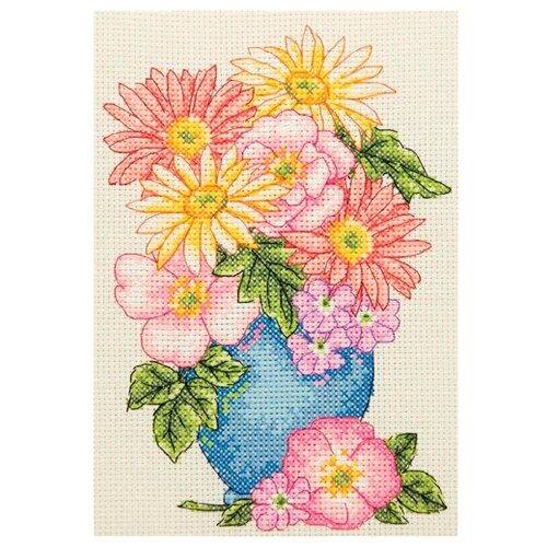 Купить Anchor Набор для вышивания Букет цветов 23 х 16 см (AK134), Наборы для вышивания