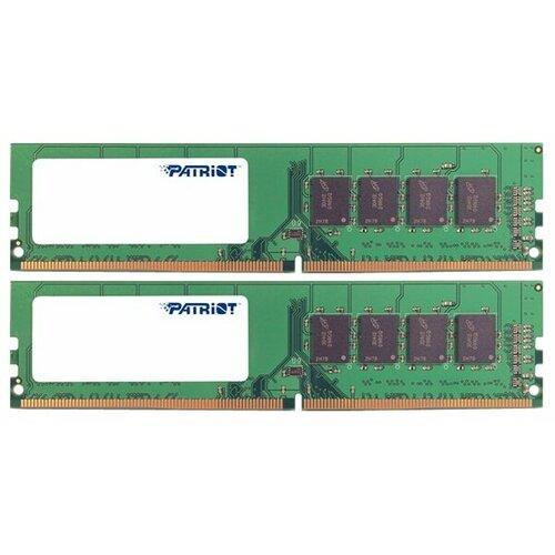 Фото - Оперативная память Patriot Memory SL 8GB (4GBx2) DDR4 2133MHz DIMM 288pin CL15 PSD48G2133K оперативная память patriot memory sl 4gb ddr4 2133mhz dimm 288pin cl15 psd44g213381