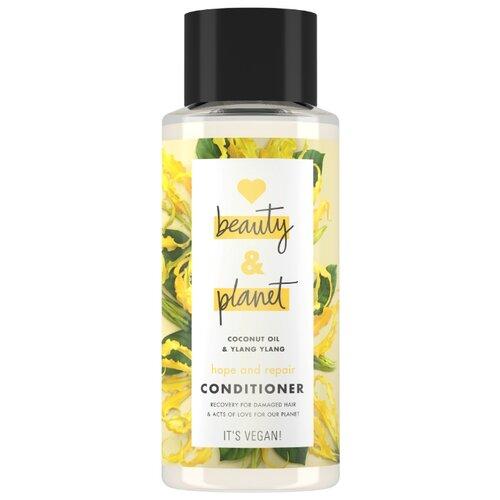 Love Beauty and Planet кондиционер для волос Coconut Oil & Ylang Ylang Восстановление и Забота, 400 мл цена 2017