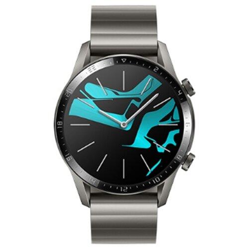 Умные часы HUAWEI Watch GT 2 Elite 46мм, титановый серый умные часы huawei watch gt active dark green