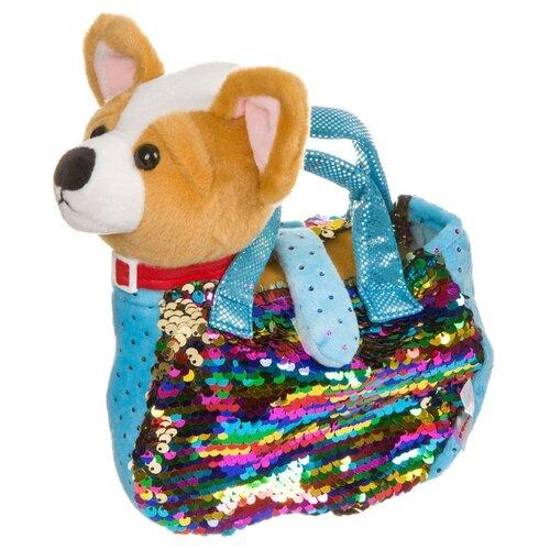 Купить Мягкая игрушка Bondibon Милота Чихуахуа в сумочке 19 см, Мягкие игрушки