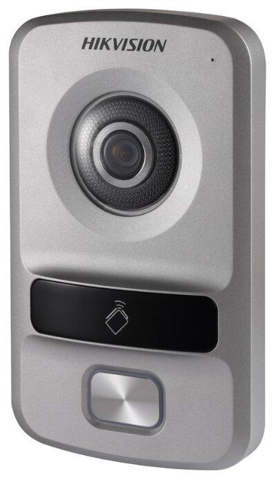 Вызывная (звонковая) панель на дверь Hikvision DS-KV8102-IP серебро