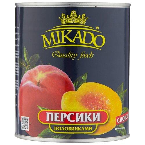 Mikado Персики половинками в сиропе 850 мл