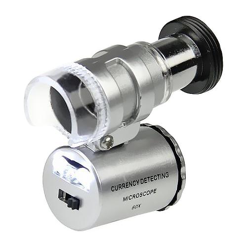 Микроскоп Кроматек 9882 серебристый