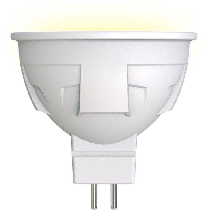Лампа светодиодная Uniel FR/DIM PLP01WH, GU5.3, JCDR, 6Вт — купить по выгодной цене на Яндекс.Маркете