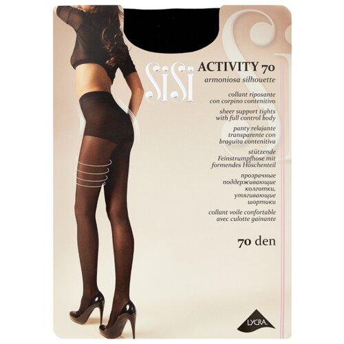 Колготки Sisi Activity 70 den, размер 2-S, nero (черный) колготки sisi activity 70 den