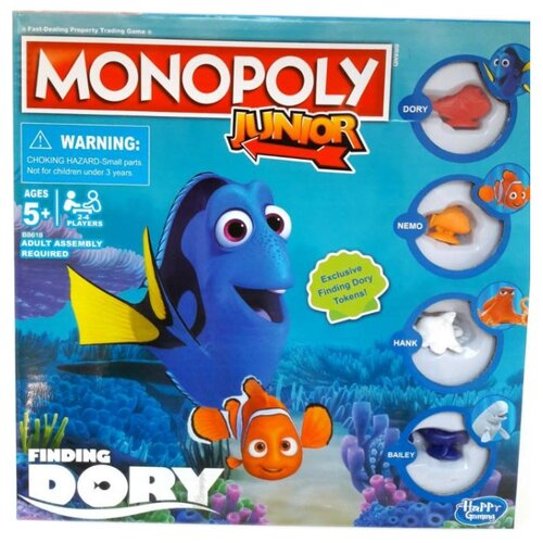 Настольная игра Monopoly В поисках Дори недорого
