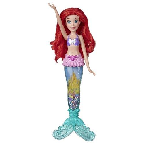 Интерактивная кукла Hasbro Disney Princess Водные приключения Ариэль, E6387 игрушка hasbro кукла princess disney модная ариэль e83975x0