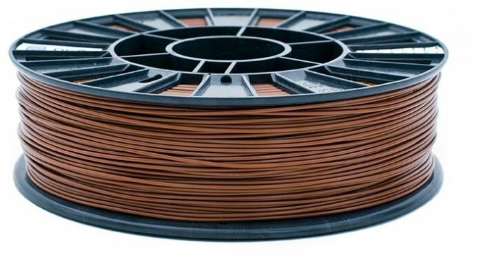ABS пруток REC 1.75 мм коричневый