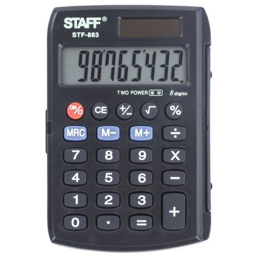 Купить Калькулятор карманный STAFF STF-883 черный