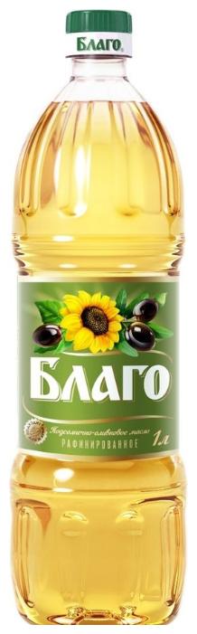 Благо Масло подсолнечное оливковое