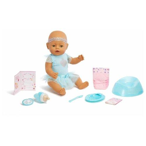 Купить Интерактивная кукла Zapf Creation Baby Born Зеленые глазки, 40 см, 916-281, Куклы и пупсы